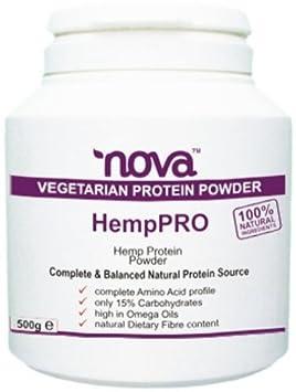 Naturlichen Hanf-Protein-Pulver Getränke Hanf-Shake Mix - 500g Unflavored