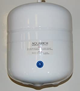 "Reverse Osmosis Water Filter System 3 Gallon Storage Pressure Tank takes 1/4"" lldpe pipe by Nature's Water"