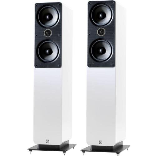 Q Acoustics 2050i Floor Standng Speakers - Gloss White Finish Black Friday & Cyber Monday 2014