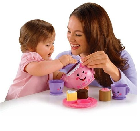 Fisher-Price- Laugh & Learn Say Please Tea Set Learning Toy In Greek