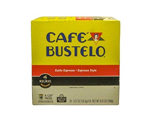 Keurig Cafe Bustelo Coffee Espresso K Cups Cuban