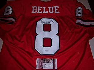 Buck Belue Georgia Bulldogs,1980 National Champs Jsa coa Signed Jersey - Autographed... by Sports+Memorabilia