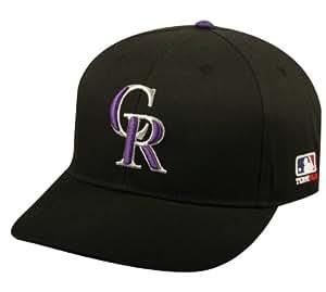 Colorado Rockies ADULT Major League Baseball Officially Licensed MLB Adjustable Baseball Replica Cap/Hat