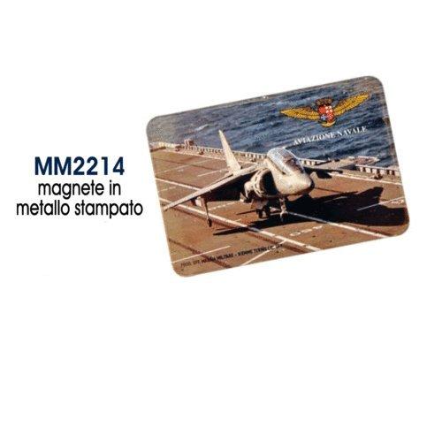 Giemme articoli promozionali - Magnete Stampato Aereo Aviazione Navale Marina Militare Prodotto Ufficiale