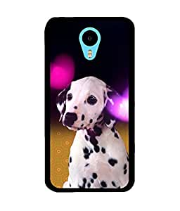 Fuson 2D Printed Dog Designer back case cover for Meizu M2 Note - D4491