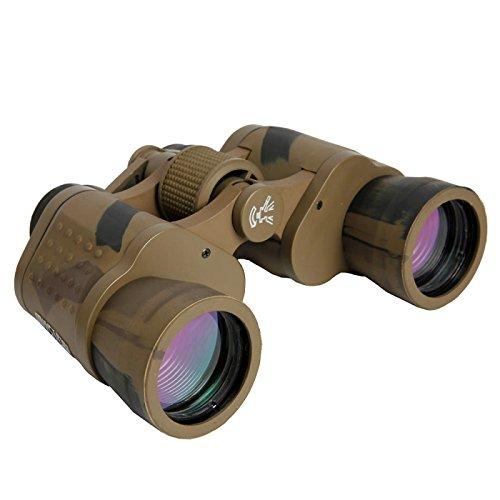 Telescope - 8 X 40 Binocular Telescopes For Outdoor Land & Wildlife Army Green