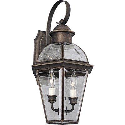 Progress Lighting P5914-20 1-Light ADA Wall Lantern Antique Bronze