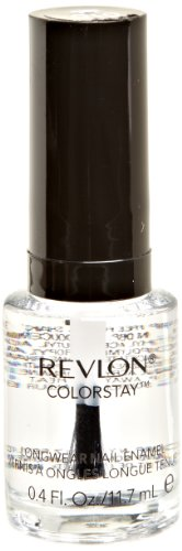 REVLON Colorstay Nail Enamel, Top Coat, 0.4 Fluid Ounce (Color Stay Gel Envy Nail Polish compare prices)