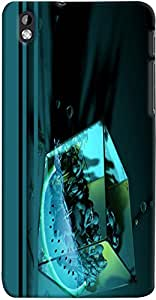 PRINTVISA Abstract Cube Women Case Cover for HTC Desire 816