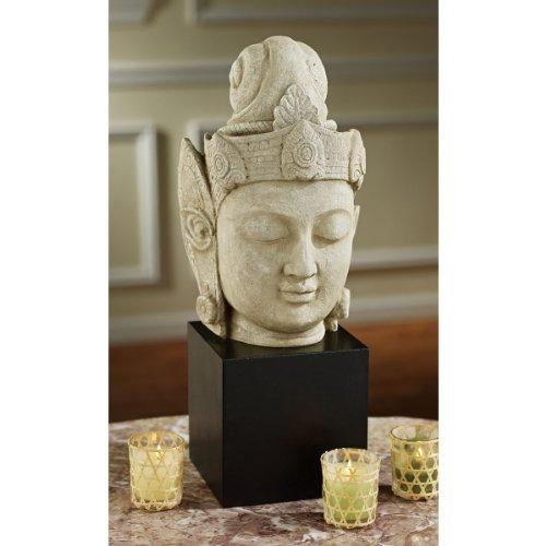 Cheap Asian Female Buddha Yin Yuan Console Table Sculpture Statue Bust (NY1282500)