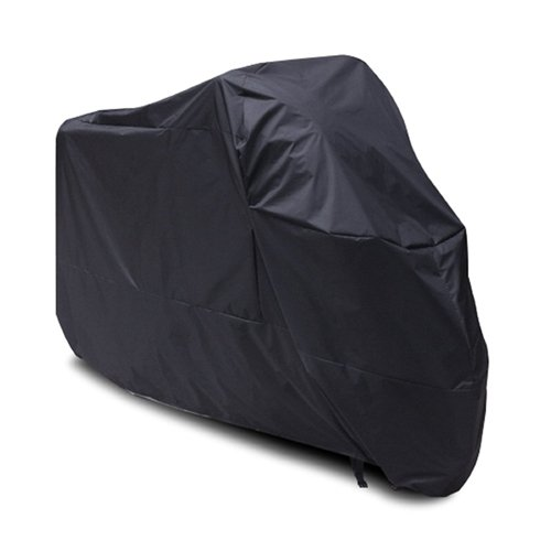 Black Motorcycle Cover For ultra classic Harley Davidson UV Dust Prevention XXL (Harley Ultra Classic Cover compare prices)