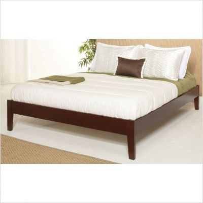Modus Furniture Newport E. King Simple Platform Bed Cordovan