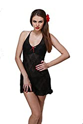Port attractive new sleepwear for women of free size (red)