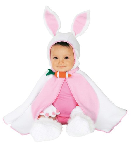 Rubie's Costume Co Baby Girl's Caped Cutie Lil' Bunny Costume