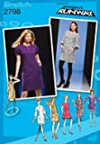 SIMPLICITY PATTERN 2798 PROJECT RUNWAY MISSES