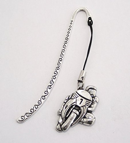 Motorcycle Bookmark in English Pewter (With Gift Box)