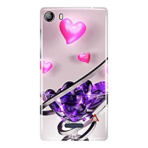 a AND b Designer Printed Mobile Back Cover / Back Case For Micromax Canvas 5 - E481 (MIC_E481_3D_3462)