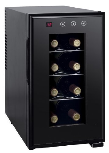 Spt Wc-0888H Thermo-Electric Slim Wine Cooler, 8 Bottles
