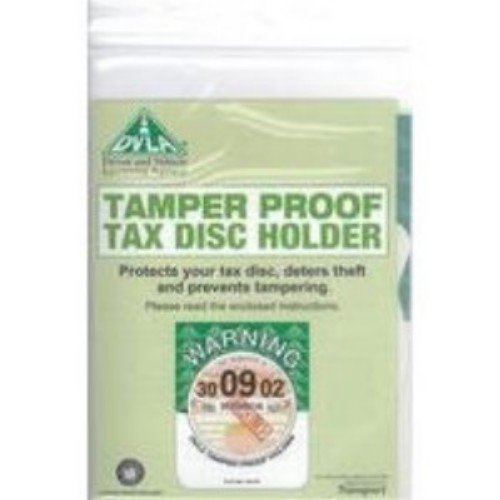Own Brand DVLA Tamper Proof Tax Disc Holder Pack of 50 DVLA1