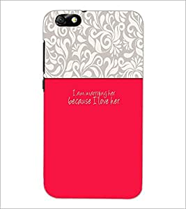 PrintDhaba Quote D-2630 Back Case Cover for HUAWEI HONOR 4X (Multi-Coloured)