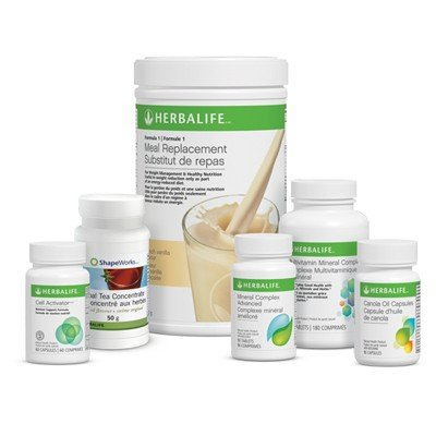Herbalife Advanced Weight Loss Program Piña Colada
