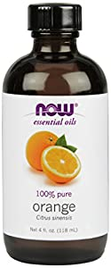 NOW Foods Orange Oil  Sweet, 4 ounce