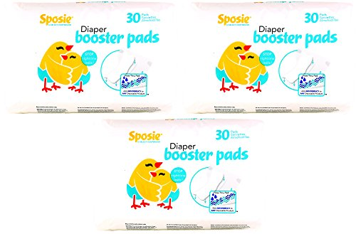 Sposie-Booster-Pads-Diaper-Doubler-90-Count-3-Packs-of-30-Pads
