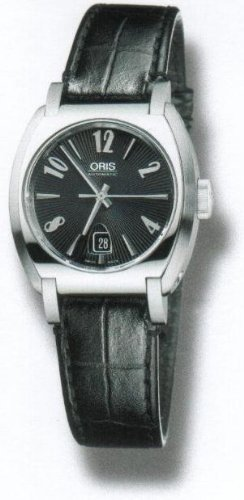 Oris Frank Sinatra Date Stainless Steel Ladies Watch 561-7573-4064LS