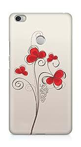 Amez designer printed 3d premium high quality back case cover for Xiaomi Mi Max (Colors patterns bright)