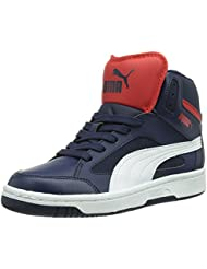Puma Boy's Puma Rebound V2 Hi Jr Sneakers - B00LUCDMPM