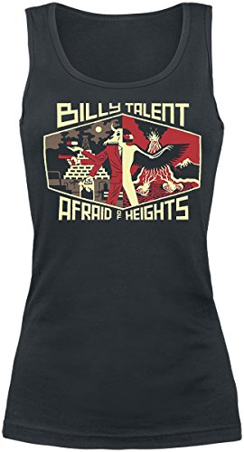 Billy Talent Afraid Of Heights Top donna nero M