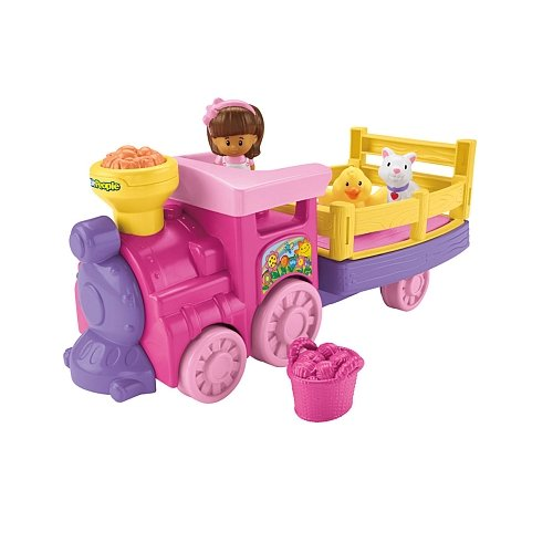 Fisher-Price Little People Musical Animal Zoo Train