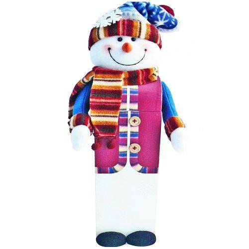 Art of Appreciation Gift Baskets Snowman Tall Gift Box of Christmas Holiday Treats
