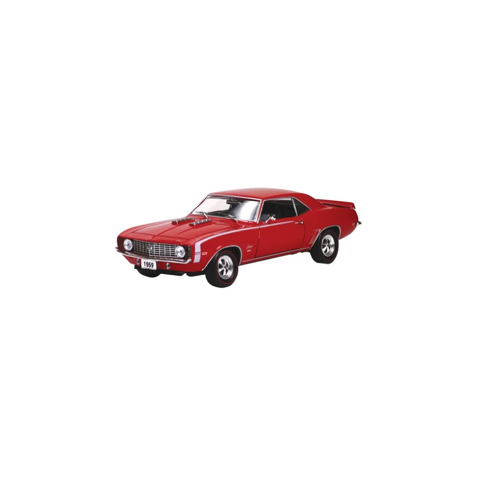 1969 Chevy Camaro Ss396 Collectible Muscle Car Die Cast Model  Hobby Pre Built Model Vehicles  Baby