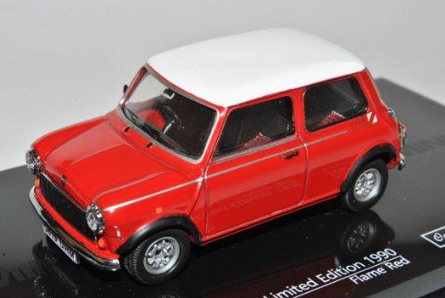Mini Cooper MKI Rot mit weißem Dach 1990 1/43 Vitesse Modell Auto