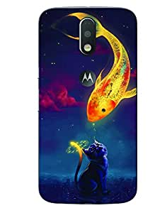 Aart 3D Luxury Desinger back Case and cover for Motorola Moto G4 Plus created by Aart store