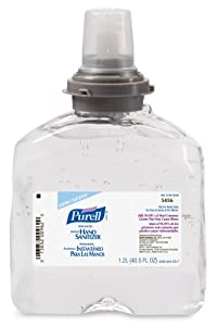 PURELL  5456-04 TFX Refill, - Advanced Gel Hand Sanitizer (1200 mL) - 4 Pack