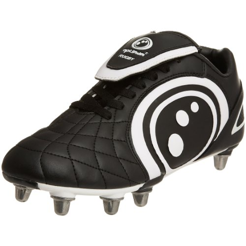 Optimum Men's Eclipse Black/White Rugby Boot RBECNS8 8 UK