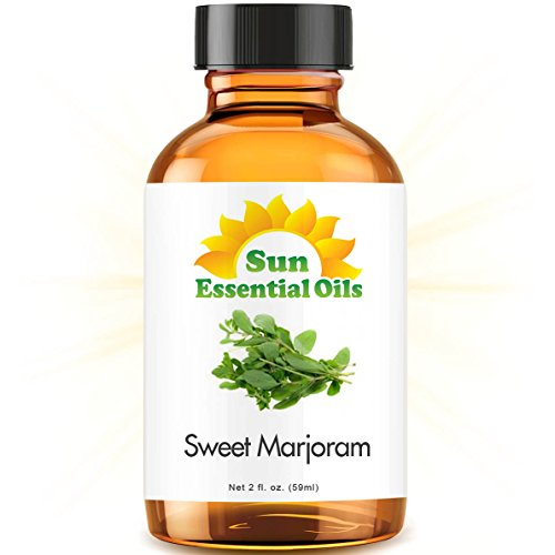 Sweet Marjoram (2 fl oz) Best Essential Oil - 2 ounces (59ml)