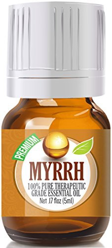 Myrrh 100% Pure, Best Therapeutic Grade Essential Oil - 5 ml