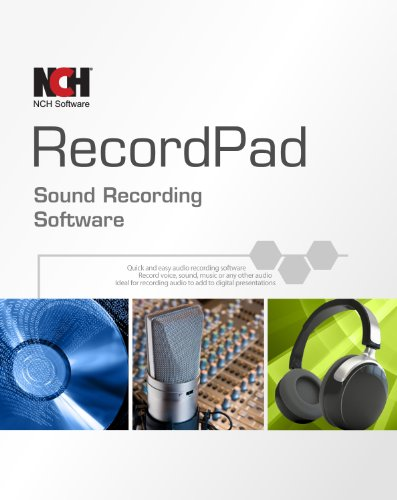 Recordpad Professional Sound Recorder Software [Download]
