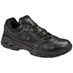 Men\'s Thorogood Slip - resistant Athletic Uniform Oxfords Black, BLACK, 15W