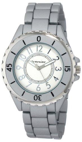 Vernier Women'S Vnr11029 Round Aluminum-Look Fashion Watch