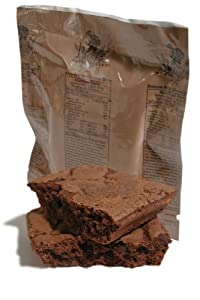 MRE Dessert - Fudge Brownie with Chocolate Chips by Varies