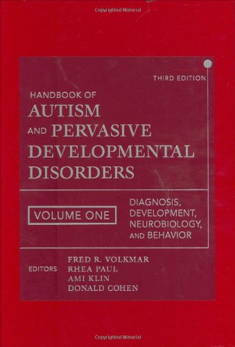 Handbook of Autism and Pervasive Developmental Disorders,...