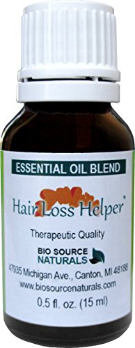 Hair Loss Helper Essential Oil Blend Aromatherapy - with essential oils of Lavender, Cedarwood, Red Thyme, Rosemary 0.5 fl oz (15 ml) Bottle
