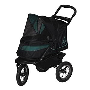 Pet Gear NV No-Zip Pet Stroller, Sky Line