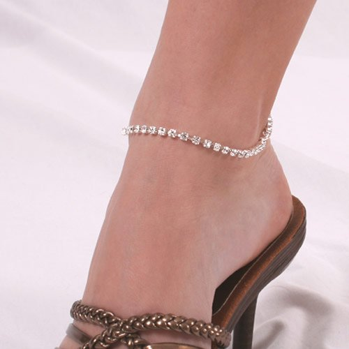 Anklet Bracelet Austrian Crystal Rhinestones Clasp SeXy Gift