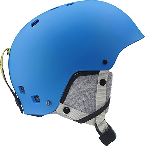 Salomon L37772900_Blue Matt_51-55 - Casco da sci Unisex, S, colore: blu opaco