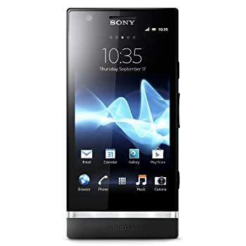 Set A Shopping Price Drop Alert For Sony Xperia P LT22i-BK Unlocked Phone with 8 MP Camera, Android 2.3 OS, Dual-Core Processor, and 4-Inch Touchscreen--U.S.Warranty (Black)